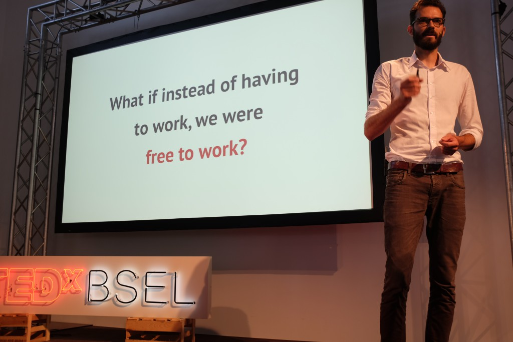What if we were free to work? – Mein TEDxTalk